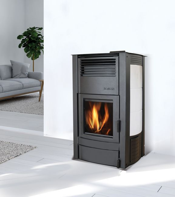 Pellet and polyfuel stove Alba